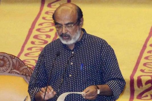 File photo of Kerala Finance Minister Thomas Issac.