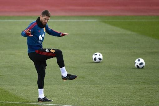 Spain defender Sergio Ramos (Image: AFP)