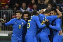 Neymar Less Brazil Brush Aside World Cup Hosts Russia