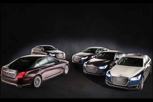 Genesis G90 Special Edition commissioned by Vanity Fair for Oscars 2018. (Image: Genesis)