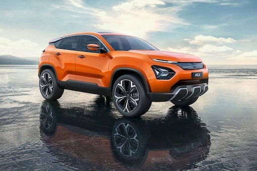 Tata H5X SUV is officially renamed as Harrier for India. (Image: Tata Motors)