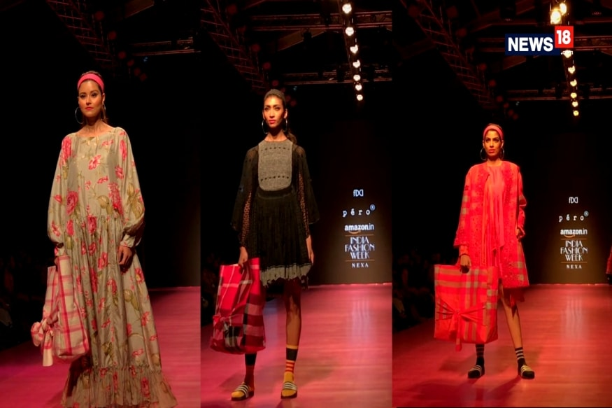 Pero Steals Hearts On Day 4 Of Amazon India Fashion Week Autumn/Winter '18
