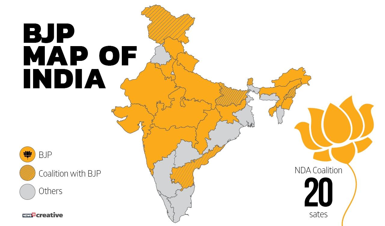 BJP Map