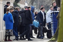 Russian Diplomats Head Home from Britain After Spy Attack