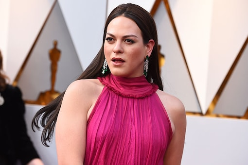 Daniela Vega attends the 90th Academy Awards held at the Dolby Theatre in Los Angeles on March 4, 2018. (Image: AP)