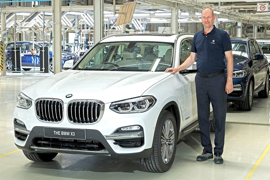 BMW X3 launched in India