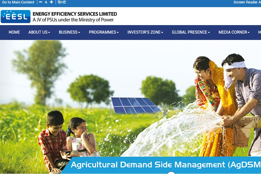 EESL Acquires England-based Utility Edina For Rs 493