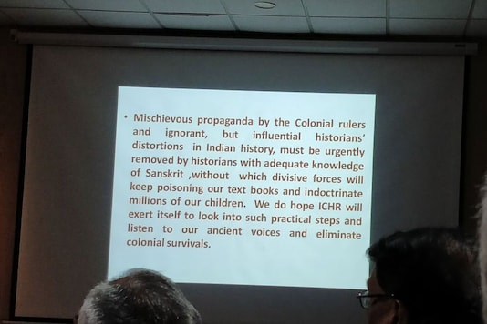 The ICHR conference was 'distortions' in Indian history was organised at IGNCA.