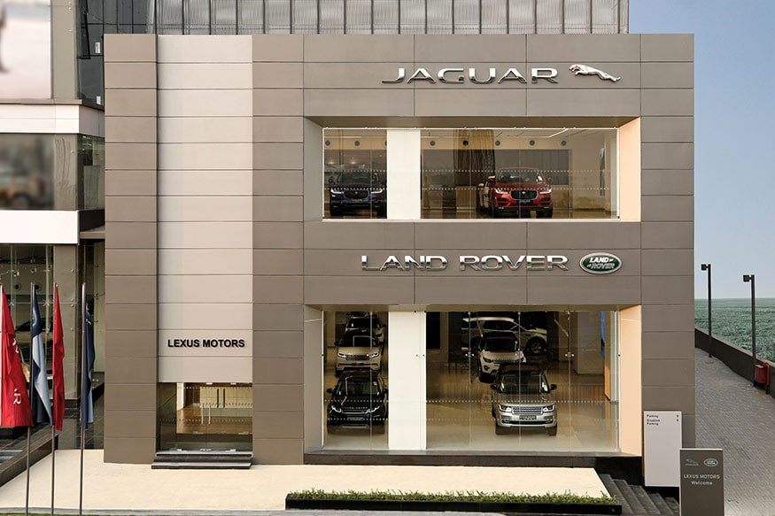 jaguar land rover opens new dealership in kolkata - news18