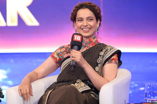 Kangana Ranaut, who spoke at the final session of the News18 Rising India Summit, spoke about her rise through the ranks of Bollywood despite being an outsider, her love life, her pride in being India, and just possibly, a political future. (Image: News18)