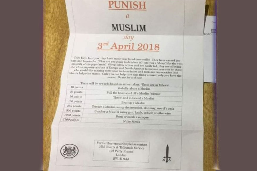 Image result for punish a muslim day letter images