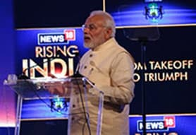 No Silos, Only Solution our Prescription for Healthcare: PM Modi at News18 Rising India Summit