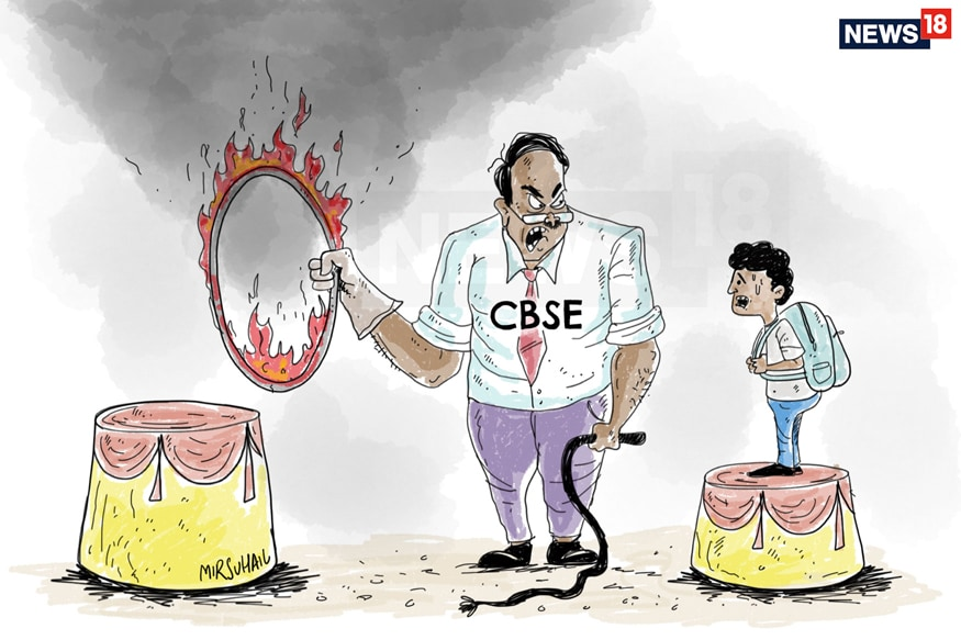 Leaking Ship, Squished Kids and Sleepy Javadekar: The Circus of CBSE