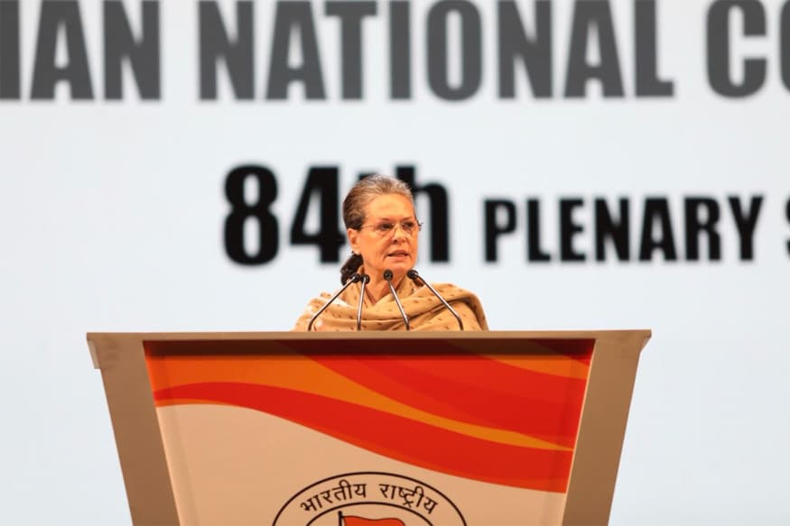 PM Modi's Promises a Trick to Grab Power, Says Sonia Gandhi at Congress Plenary