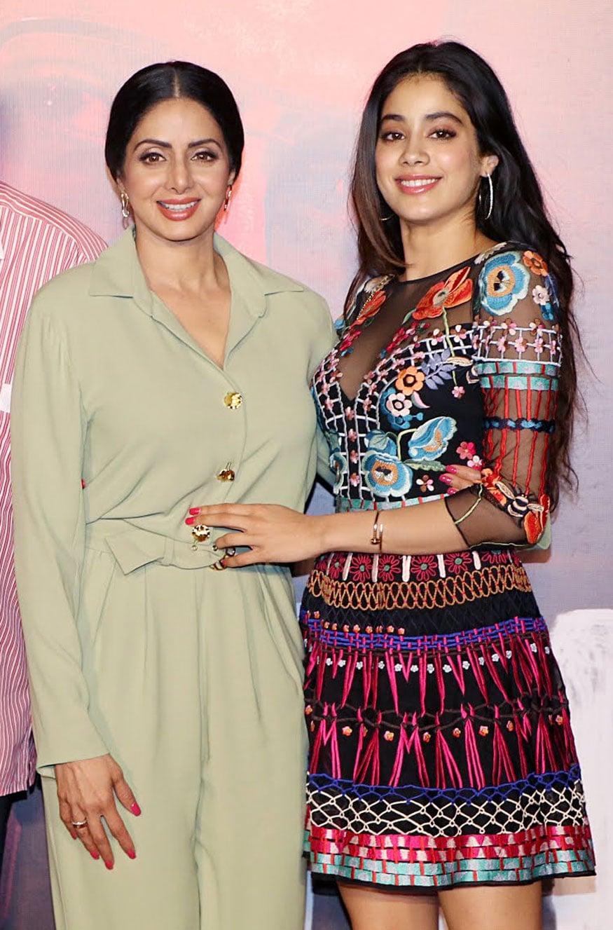 Image result for Isha Sharma Janhvi and Sridevi