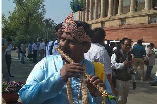 File Photo of TDP MP Dr. Naramalli Siva Prasad.