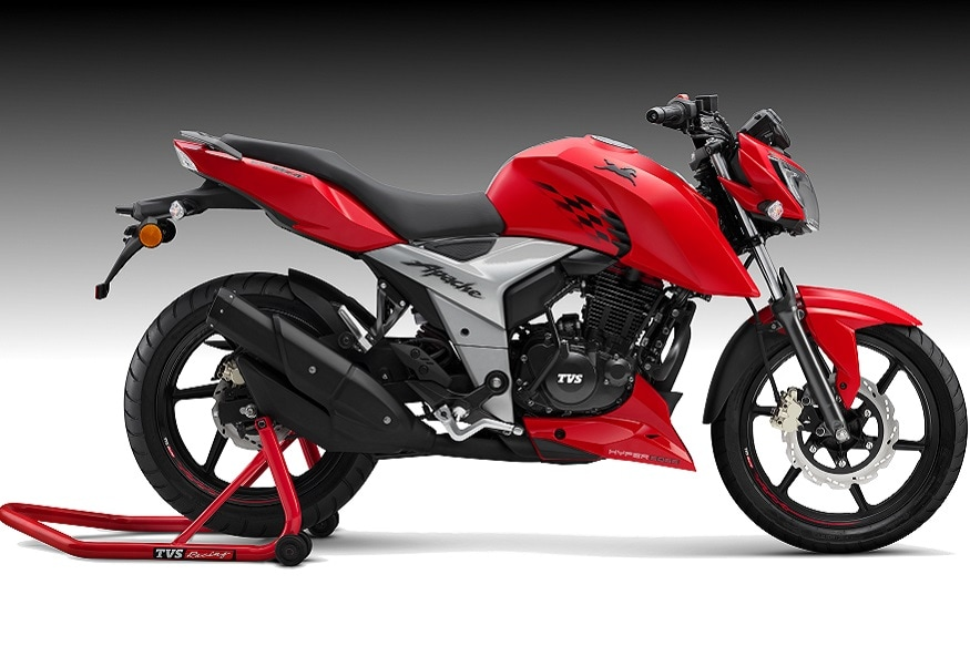 2018 tvs apache rtr 160 4v launched for rs 81490 in india