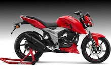 New TVS Apache RTR 160 4V Detailed Image Gallery
