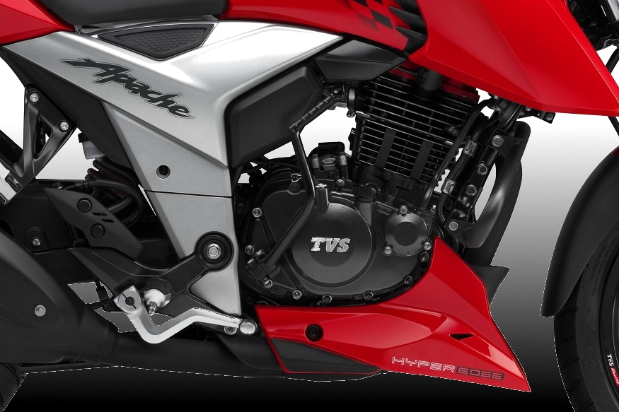 New TVS Apache RTR 160 4V Detailed Image Gallery - News18