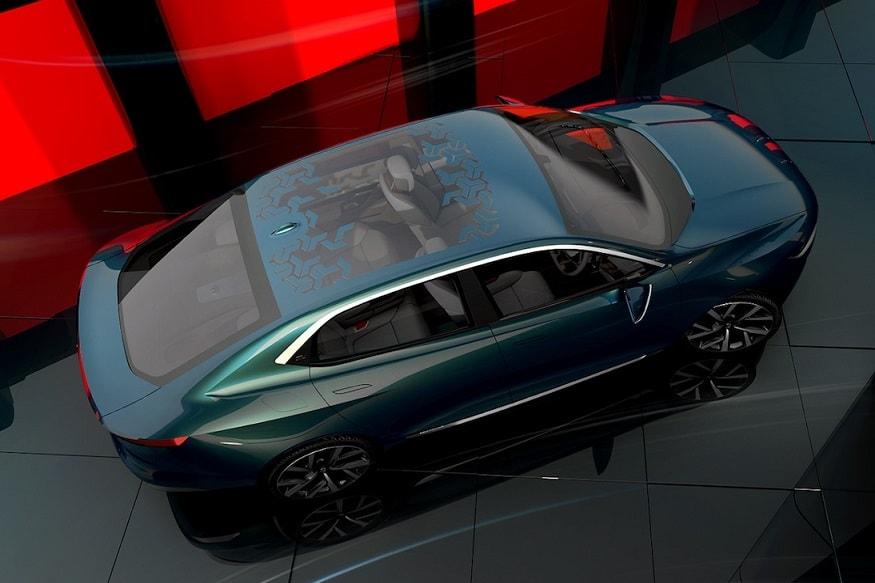 2018 Geneva Motor Show, Tata E-Vision Concept