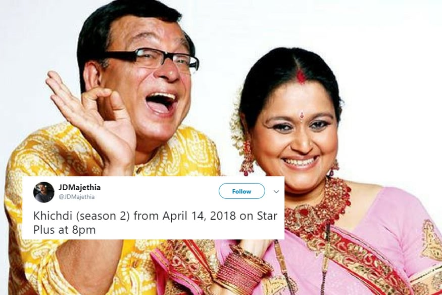 Rejoice! Sitcom 'Khichdi' is All Set to Make a Comeback to National Television After 12 Years
