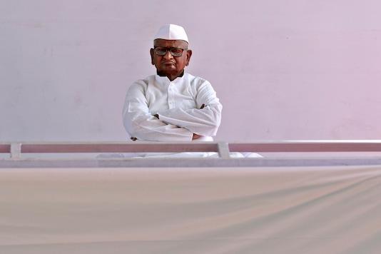 File photo of social activist Anna Hazare. (AP Photo)