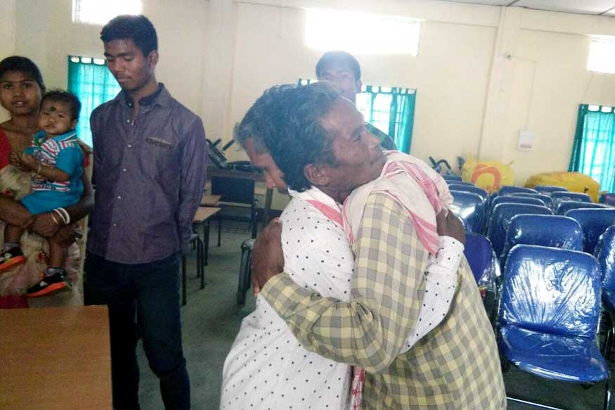 Two Lost Brothers Reunited After 46 Years During NRC Updating Exercise in Assam