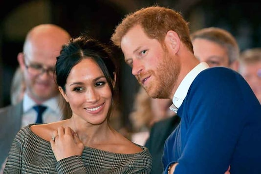 File photo of Prince Harry and Meghan Markle. (Image: AP)