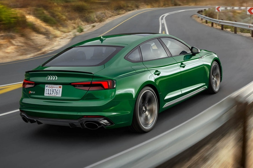 New Audi RS5 Sportback. (Image: AFP Relaxnews)
