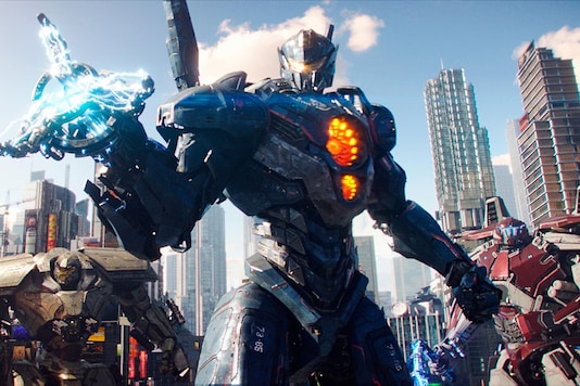 Image: A still from Pacific Rim Uprising