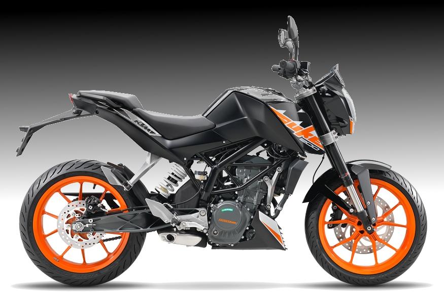 KTM Duke 200. (Image: KTM)