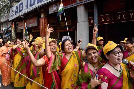File photo. Members of Jain Community participate in a religious rally to celebrate Mahavir Jayanti. (Image: PTI)