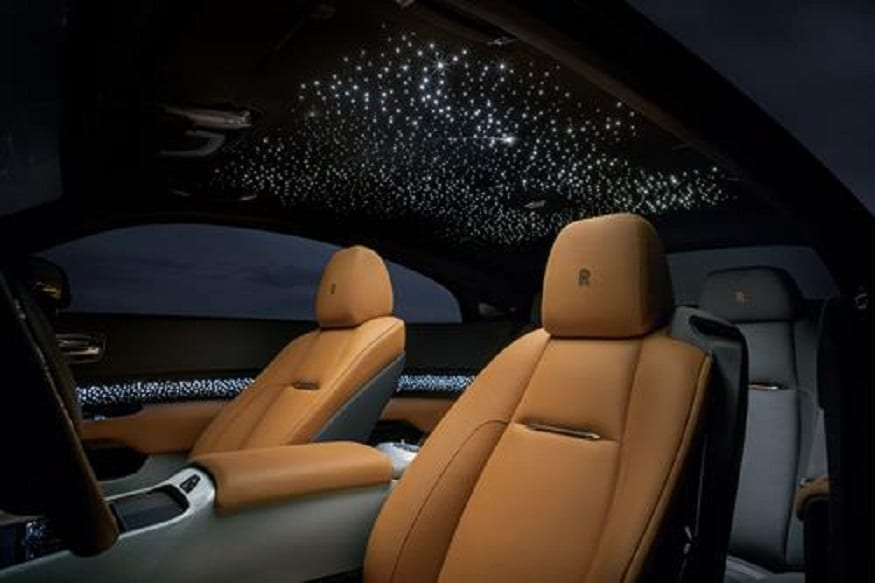 "Rolls-Royce Luminary Collection ""shooting star"" headliner. (Image: AFP Relaxnews)"