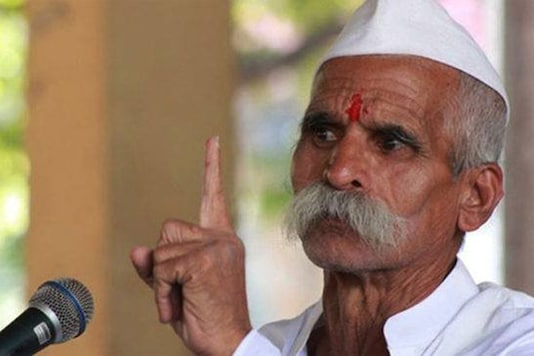 File photo of Sambhaji Bhide.