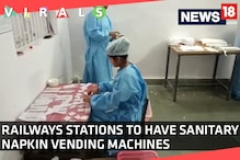 Sanitary Pad Vending Machine to be Installed at 8,000 Railways Stations