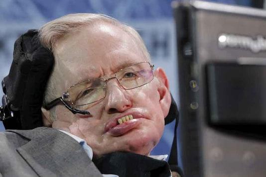File photo of Stephen Hawking.