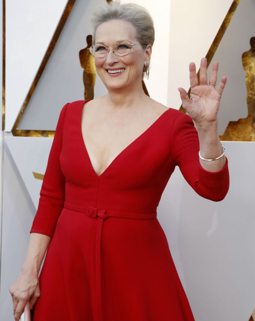 (Photo: Veteran actress Meryl Streep at OScars 2018/ Reuters)