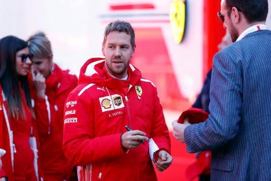 Sebastian Vettel. (Reuters)