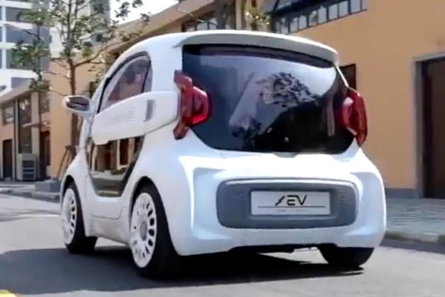XEV LSEV prototype. (Image: AFP Relaxnews)