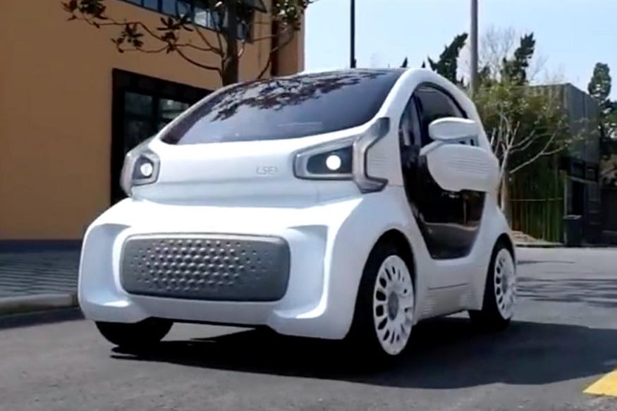 World\'s First 3D Printed Car to Hit the Roads Next Year - News18