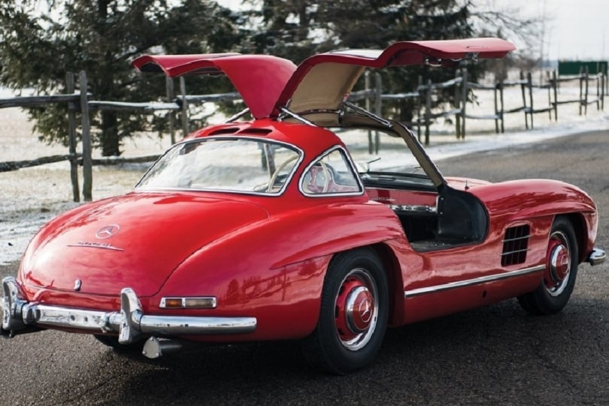 "1957 Mercedes-Benz 300SL ""Gullwing"". (Image: AFP Relaxnews)"