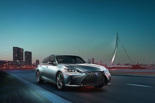 2019 Lexus ES. (Image: Lexus)