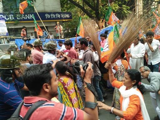 BJP protest 3