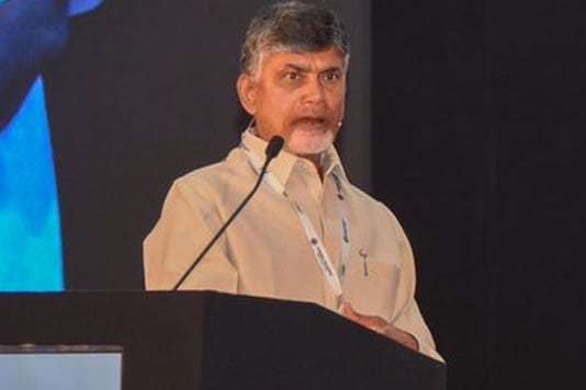 File photo of Andhra Pradesh CM Chandrababu Naidu.