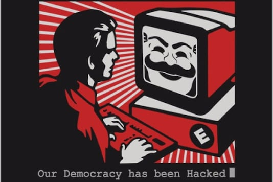 Official logo of hacker group Fsociety