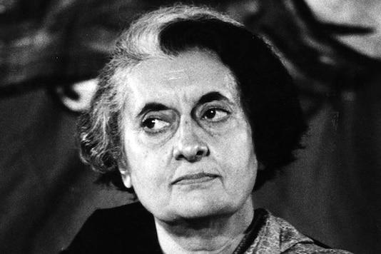 File photo of former Indian Prime Minister Indira Gandhi.