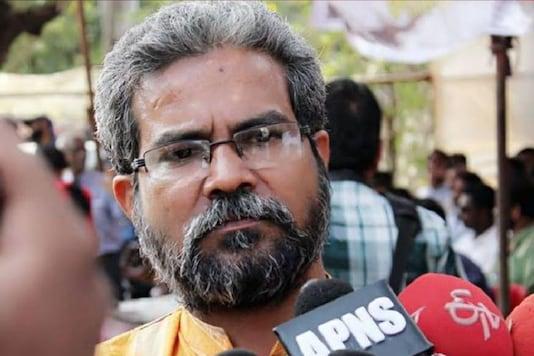 File photo of journalist Kamal Shukla. (Image: Firstpost)