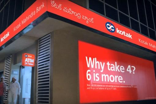 File photo of Kotak Mahindra Bank.