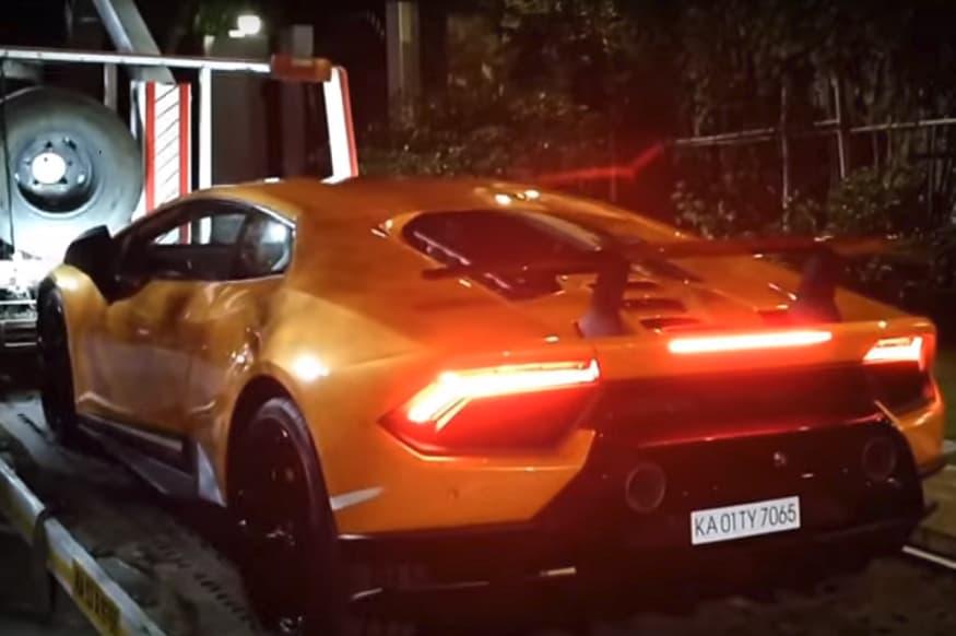 Lamborghini Huracan Performante Worth Rs 3 76 Crore Home Delivery In