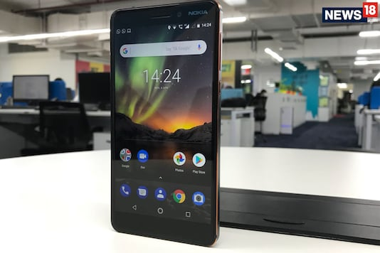 Nokia 6 (2018) 4GB RAM Variant Goes on Sale in India: Price, Specifications And More (Image: Sarthak Dogra/ News18.com)